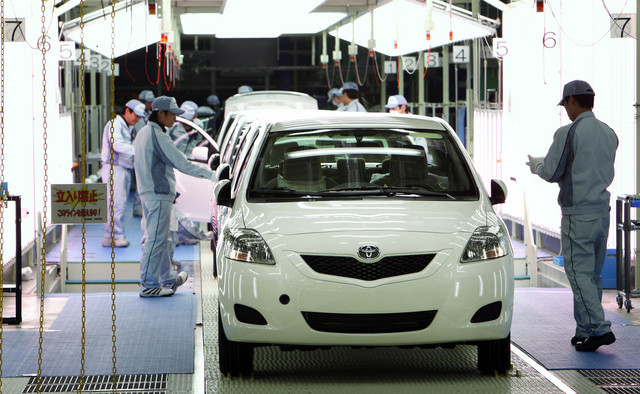Robots Laid Off at Toyota