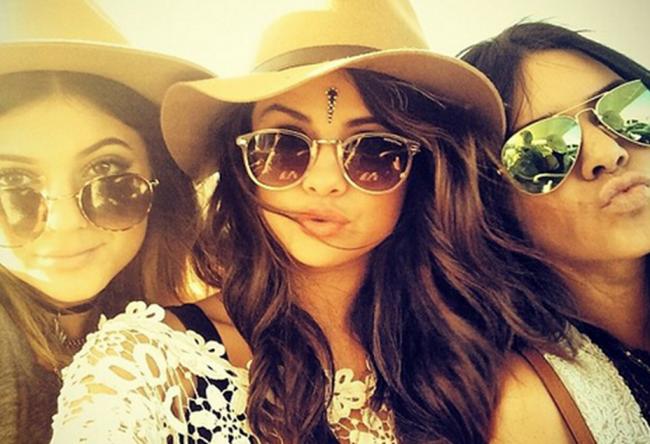 Selena Gomez Kylie Jenner Kendall Jenner