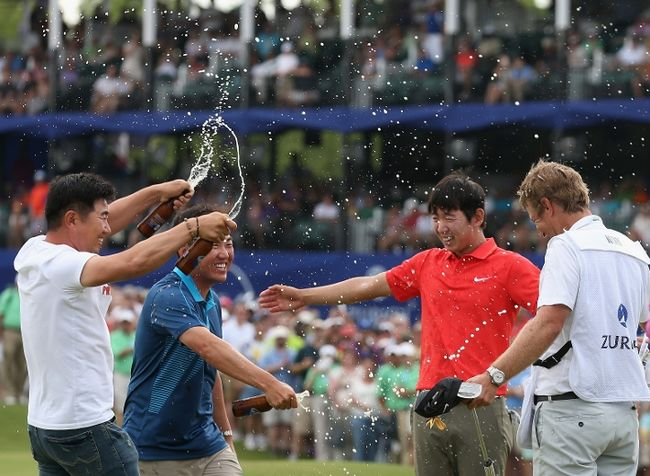 Seung-Yul Noh Gets First PGA Win at Zurich Classic: Golf Shots