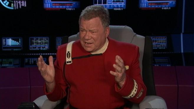 William Shatner Live Tweets and Silent Auction