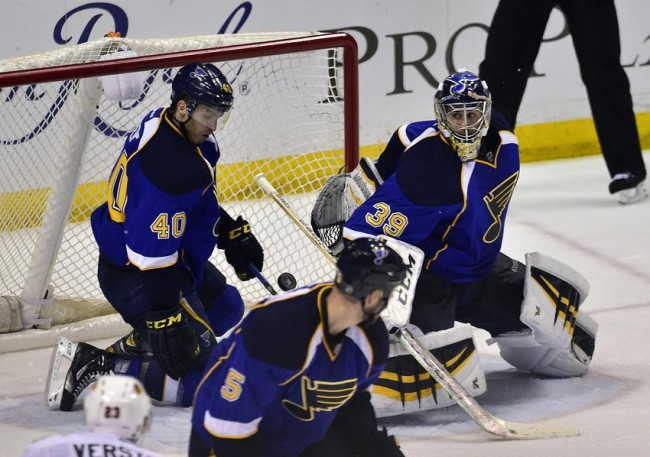 St. Louis Blues Ryan Miller Stanley Cup Playoffs NHL Daily