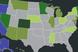 The Five States Most Likely to Next Legalize Marijuana