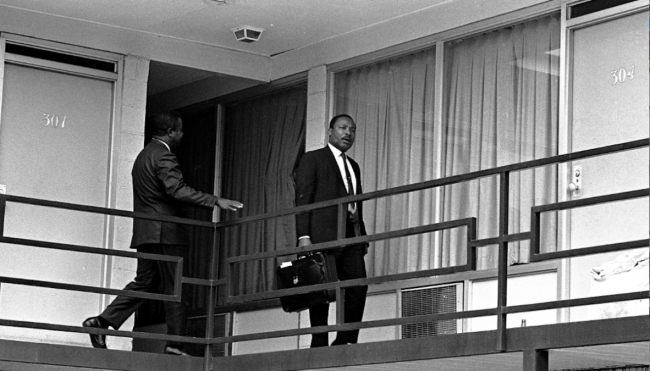 martin luther king assassination