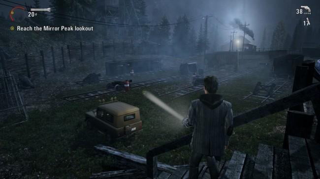 Alan Wake on the Xbox 360