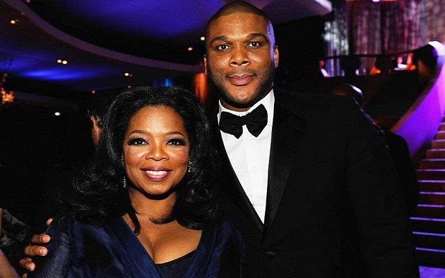 Tyler Perry takes a break from making movies