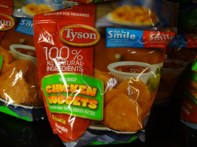 chicken nuggets Tyson recall