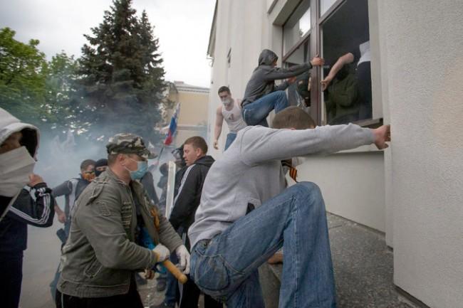 ukraine pro-Russian militants