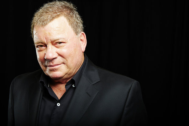 William Shatner Honoured by NASA Medal