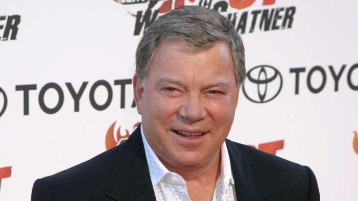 Shatner Writing Science Fiction Novel and Taking Over the World [Satire]