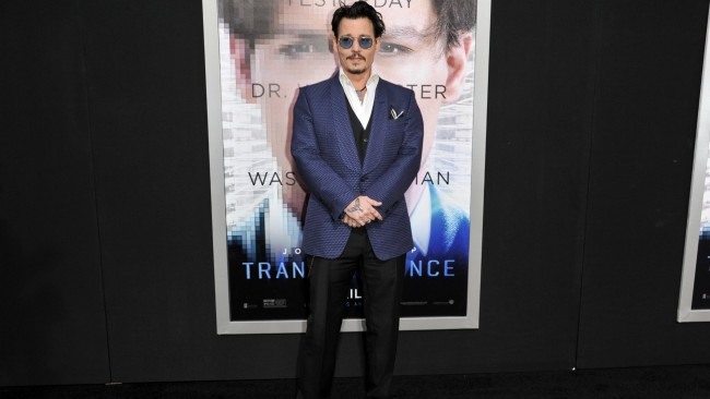 Johnny Depp Subpoenaed at Transcendance Premiere in Murder Case