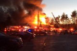 Foxborough Fire Destroys Lakeview Pavilion, Was Started by a Cigarette