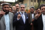 Abdullah Lead in Afghanistan Election