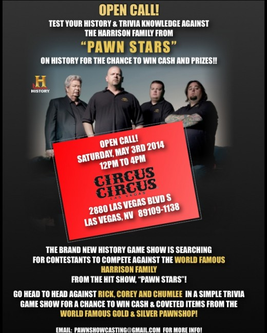 Pawn Stars Wants to Compete Against You in Trivia Game Show