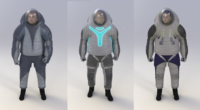 NASAs Futuristic Z2 Spacesuit How It Works Infographic