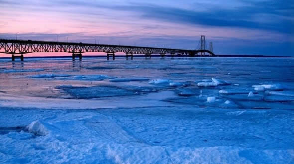 Michigan Tourist Spot Mackinac Island Finally Thaws out After Long Winter