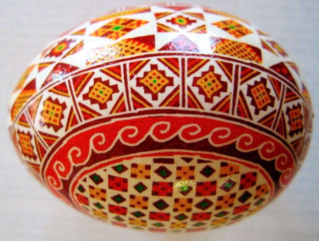Pysanka The Traditional Ukrainian Folk Art Of Decorating Easter Eggs Traces Back To Ancient Times Wherein Myths Were Crafted About Egg As Source