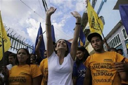 Venezuela Woman Becomes Rebel Leader