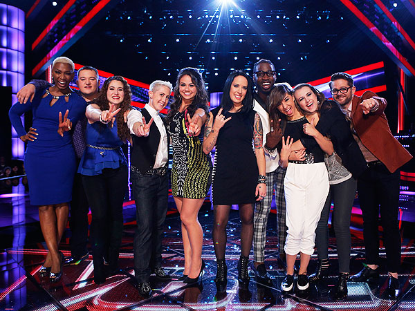 The Voice The Live Top Ten Performances (Review)