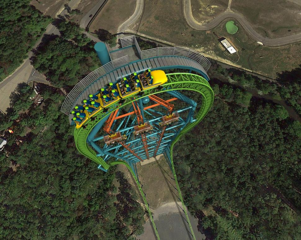 Six Flags Opens Record Breaking Zumanjaro