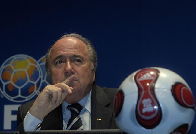 Sepp Blatter Qatar World Cup