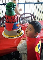 5-Year-Old Cancer Victim Buried By the Superheroes He Loved