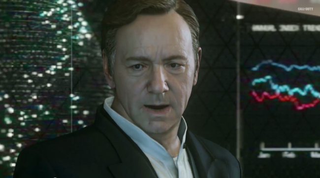 Call of Duty featuring Kevin Spacey