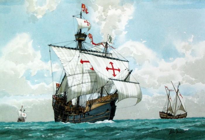 Christopher Columbus Flagship the Santa Maria Found?