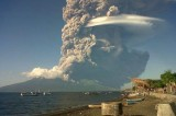 Darwin Flights Interrupted by Volcano