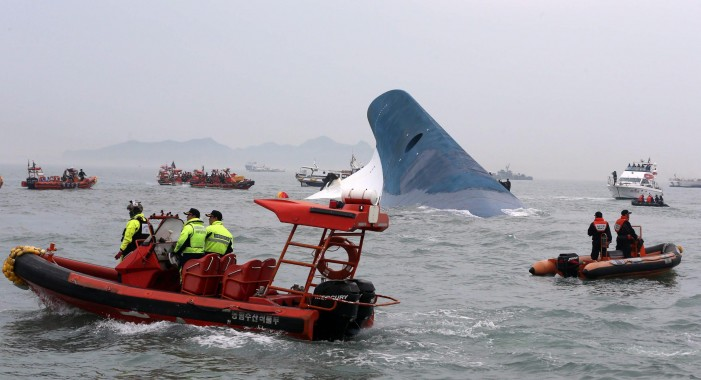 Deaths from Korean Ferry Sewol Accident Echo During May Festivals