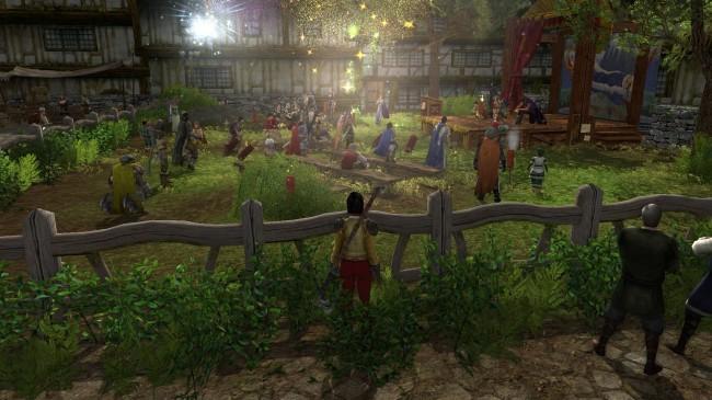 MMORPG Open World