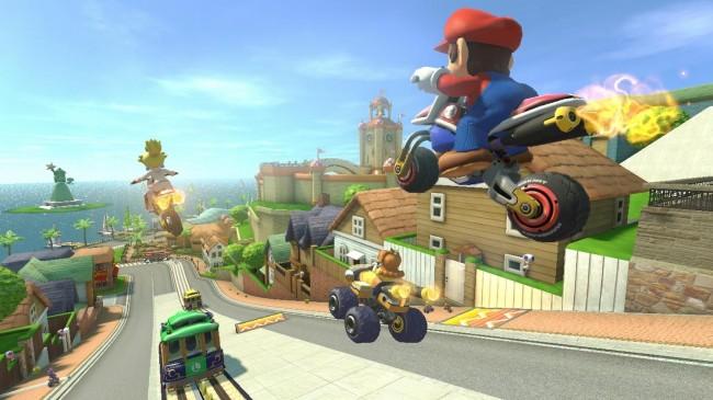 Nintendo Mario Kart 8 on the Wii U