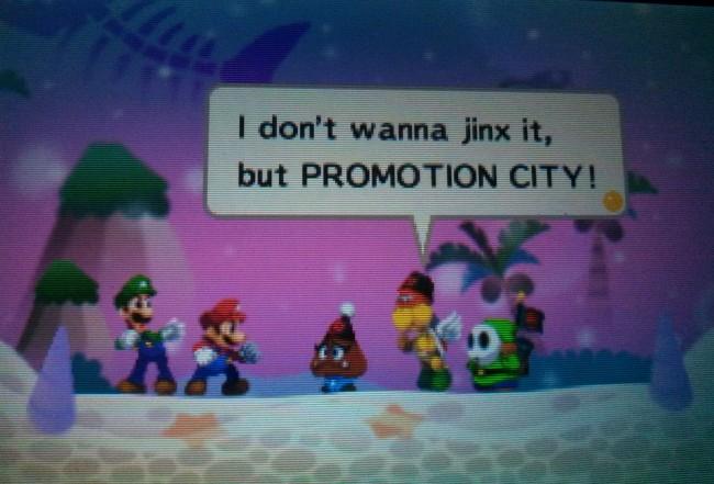 Humor in Mario and Luigi Dream Team
