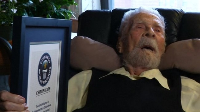 New York Man is Oldest in the World