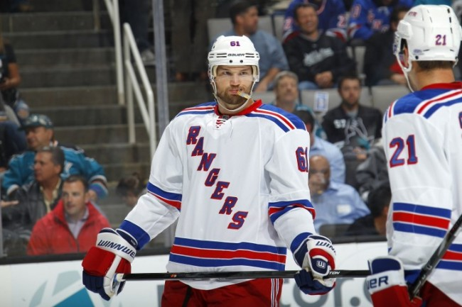 New York Rangers Pittsburgh Penguins Rick Nash
