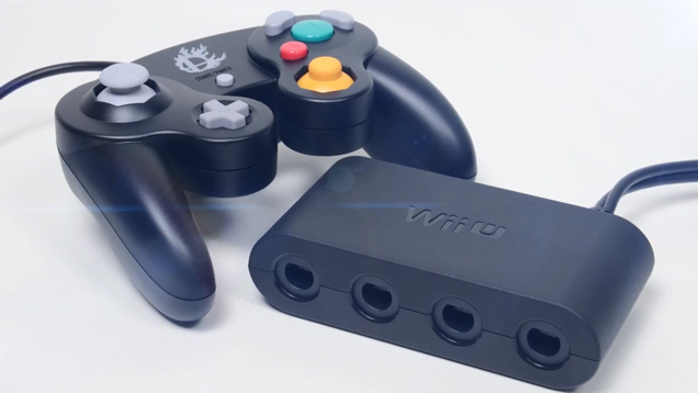 Nintendo Gamecube Controller Adapter for new Super Smash Bros.