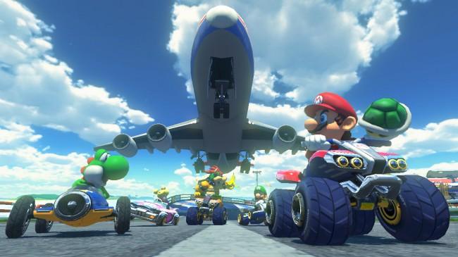 Nintendo Mario Kart 8 stages