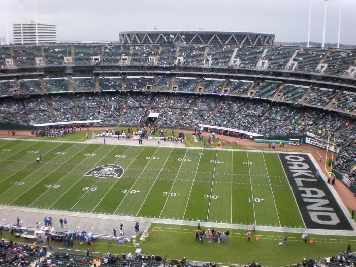 Oakland Raiders Rush the NFL Draft