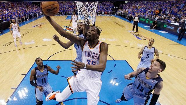Oklahoma City Thunder Kevin Durant
