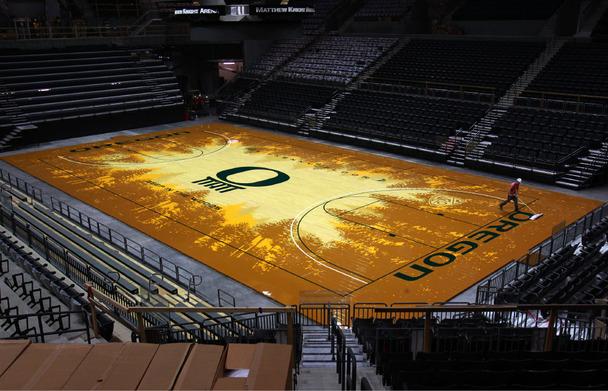 Nice Oregon Ducks Basketball: Silence Is Not Golden