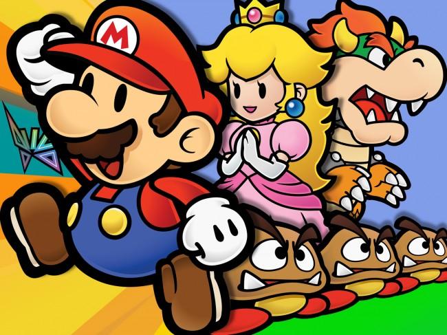 Paper Mario Distinct Art Style