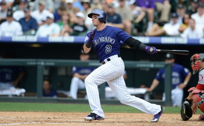 Colorado Rockies Tulowitzki
