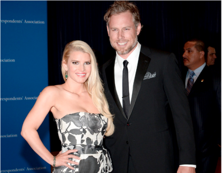 Jessica Simpson Showing off New Weight Watchers Waistline