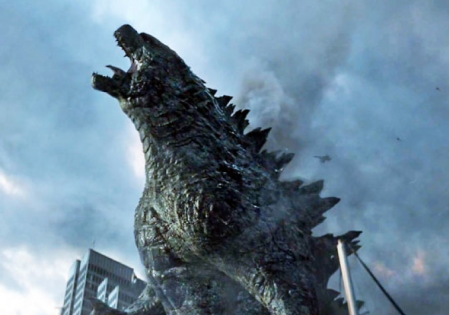Godzilla 2014 It Is Good to be King