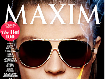 Maxim Hot 100 2014 List Drops Miley Cyrus to 25