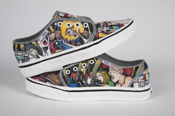 66e3e6f71d Vans Shoes Supports Arts Education With Custom Culture - Guardian ...