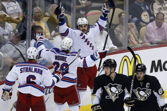 Pittsburgh Penguins New York Rangers NHL Daily