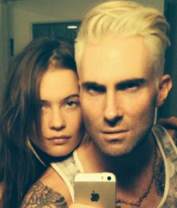 Sexiest Man Alive Adam Levine Goes Blond
