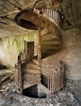 Dilapidated Spiral Staircase
