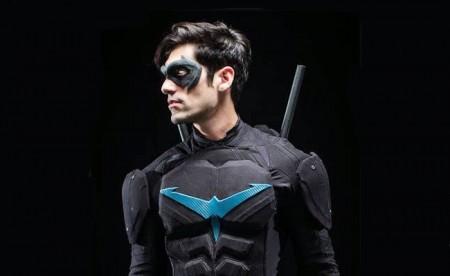 Brenton Thwaites as Nightwing by Bosslogic : DCcomics
