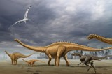 Diplodocids Once Roamed Argentina and Survived the Mass Extinction